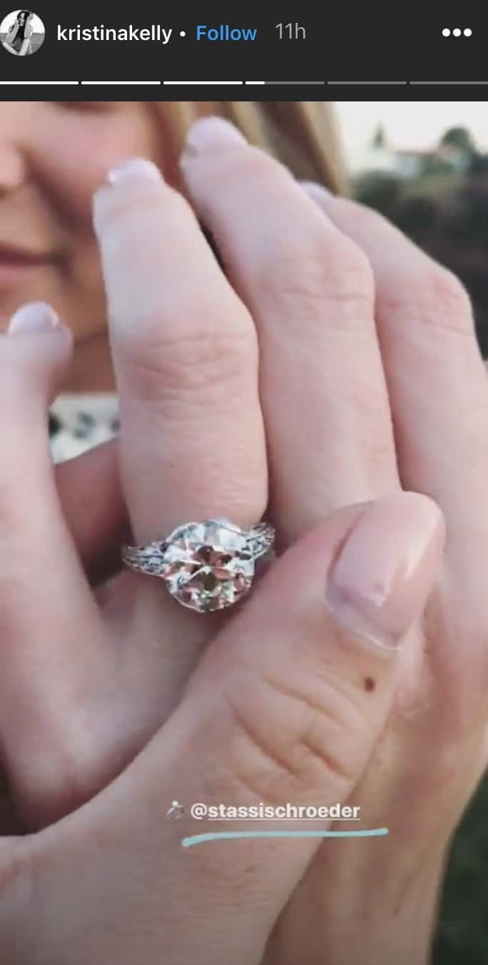 Vanderpump Rules Stassi Schroeder Engagement Ring Closeup