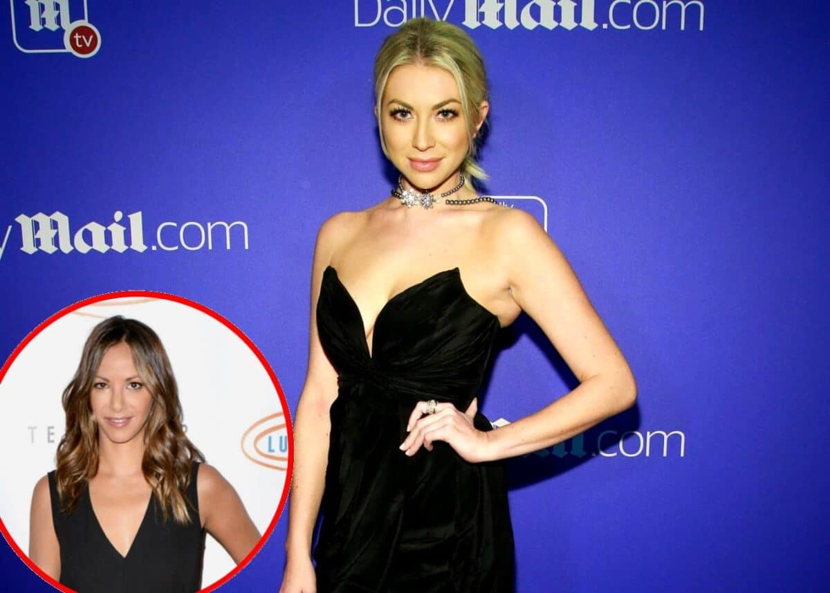 "Stassi Schroeder Talks Vanderpump Rules ""Drama"" Amid Kristen Doute Feud, Plus She Dishes on New Cast Members, Wedding Date and Reveals If Nuptials Will Air on the Show"