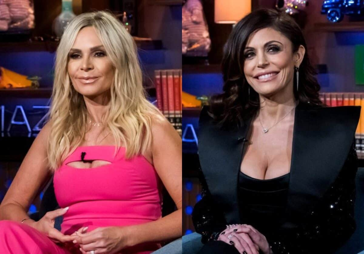 RHOC Star Tamra Judge Calls Out Bethenny Frankel! Suggests She Wasn't Truthful About Why She Quit RHONY