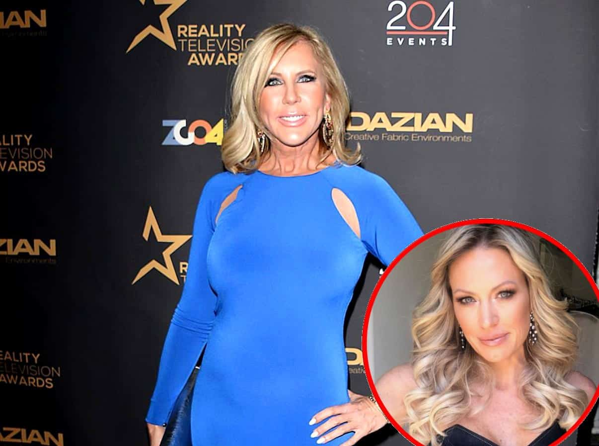 Vicki Gunvalson Talks Feud with RHOC Newbie Braunwyn Windham-Burke, Addresses Future After Demotion