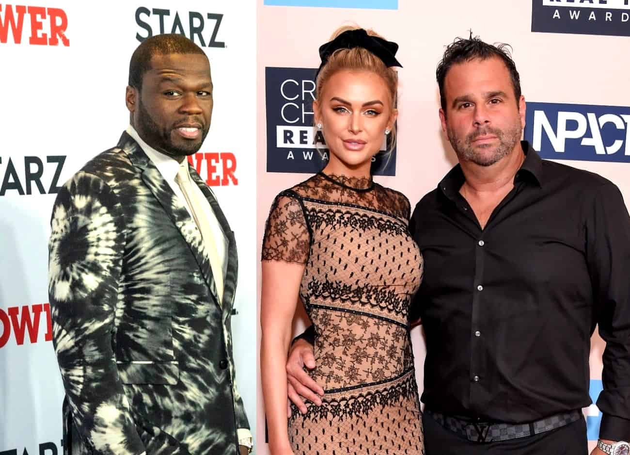 50 Cent Accuses Vanderpump Rules' Lala Kent and Randall Emmett of Threatening to Sue Him, Shares Details of Their Settlement and Continues Instagram Posts