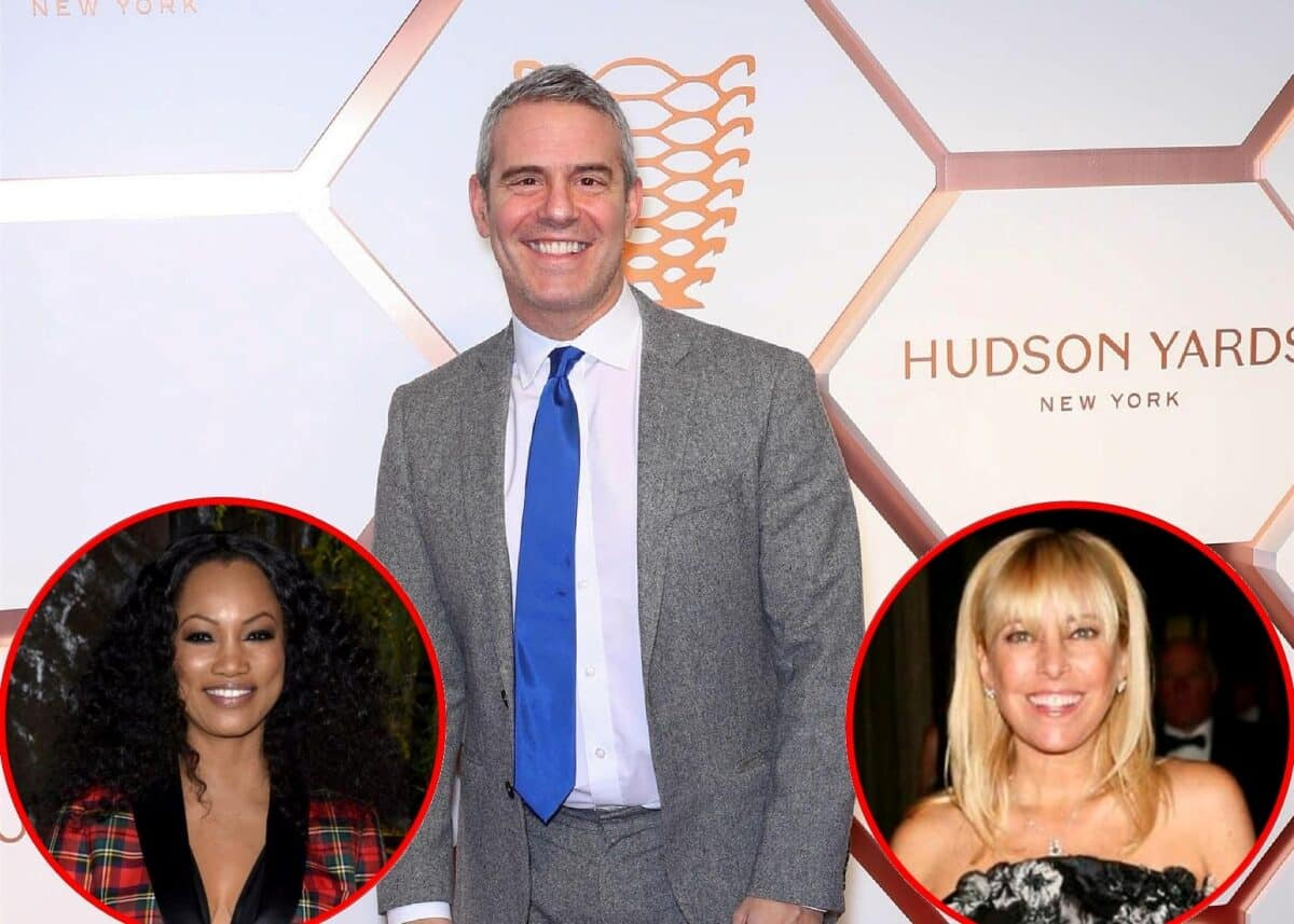 Andy Cohen Reveals Why Garcelle Beauvais Was Cast for the RHOBH and Why Sutton Stracke is the 'Real Deal'