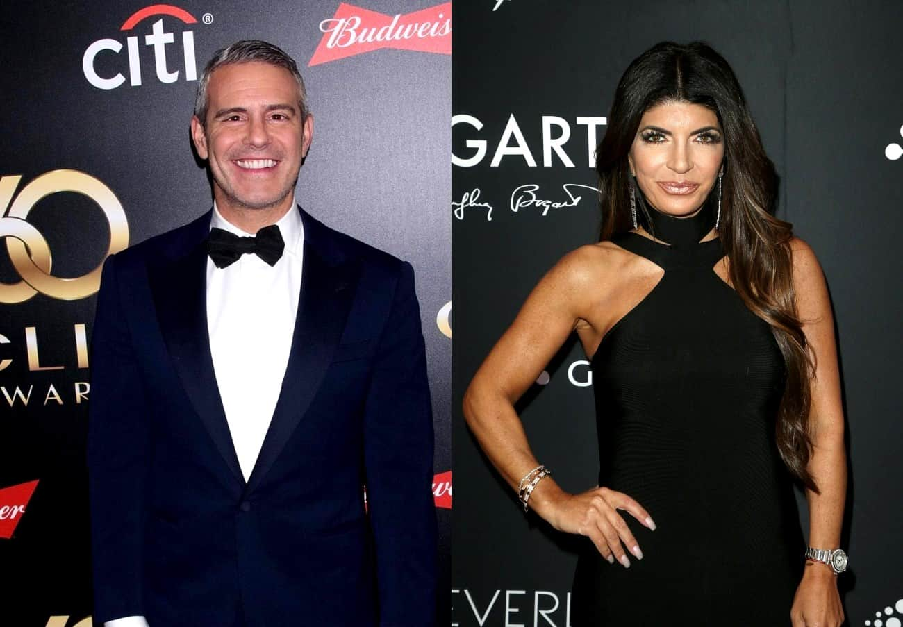 Andy Cohen Addresses Teresa Giudice Cheating Rumors and Admits RHONJ Wasn't Great For a Few Years, Plus Why Teresa Has Yet to File for Divorce