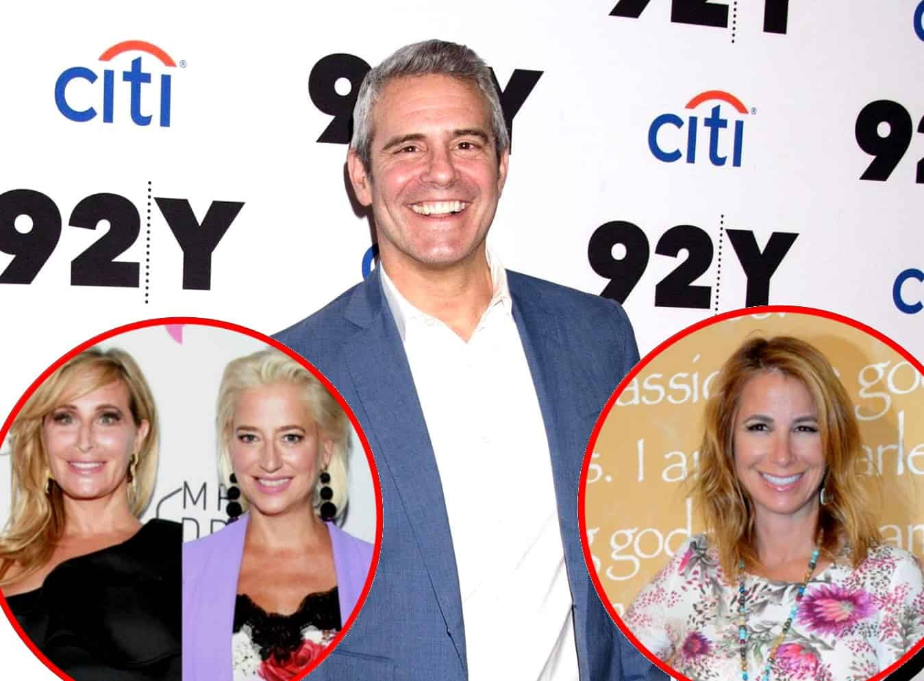 Andy Cohen Addresses Sonja Morgan and Dorinda Medley's Transgender Controversy, Reveals If Jill Zarin Will Appear on the New Season of RHONY