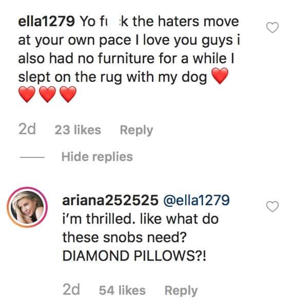 Vanderpump Rules Ariana Madix Suggests Lala Kent is a Snob