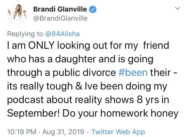 Brandi Glanville Explains Why She's Defending Kelly dodd