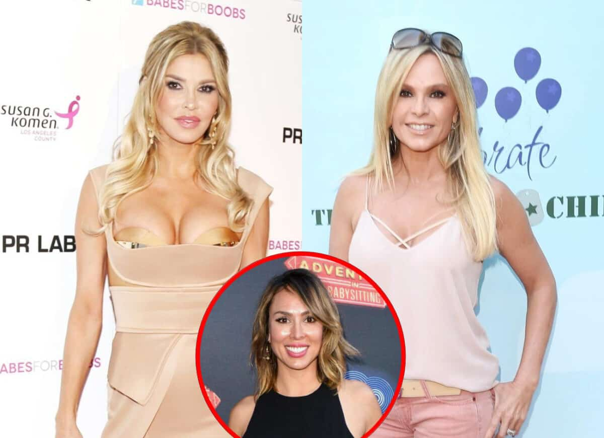 Brandi Glanville Shades Tamra Judge's Relationship With Daughter and Mentions Legal Action After RHOC Star Implies Brandi and Kelly Dodd are 'Unstable'