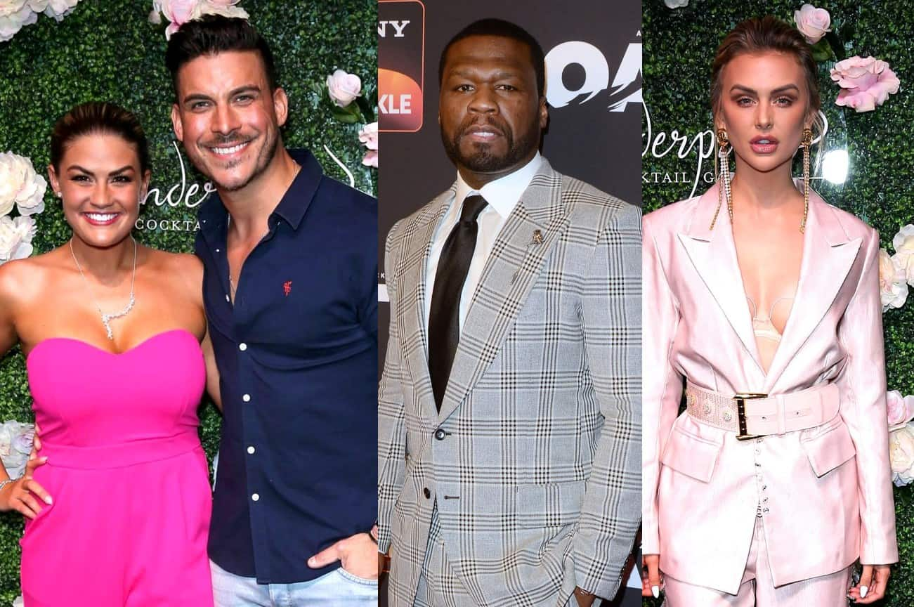 "Vanderpump Rules' Jax Taylor Slams 50 Cent! Reveals Why He ""Looks Stupid"" For Going After Lala Kent Plus Brittany Cartwright Defends Lala"
