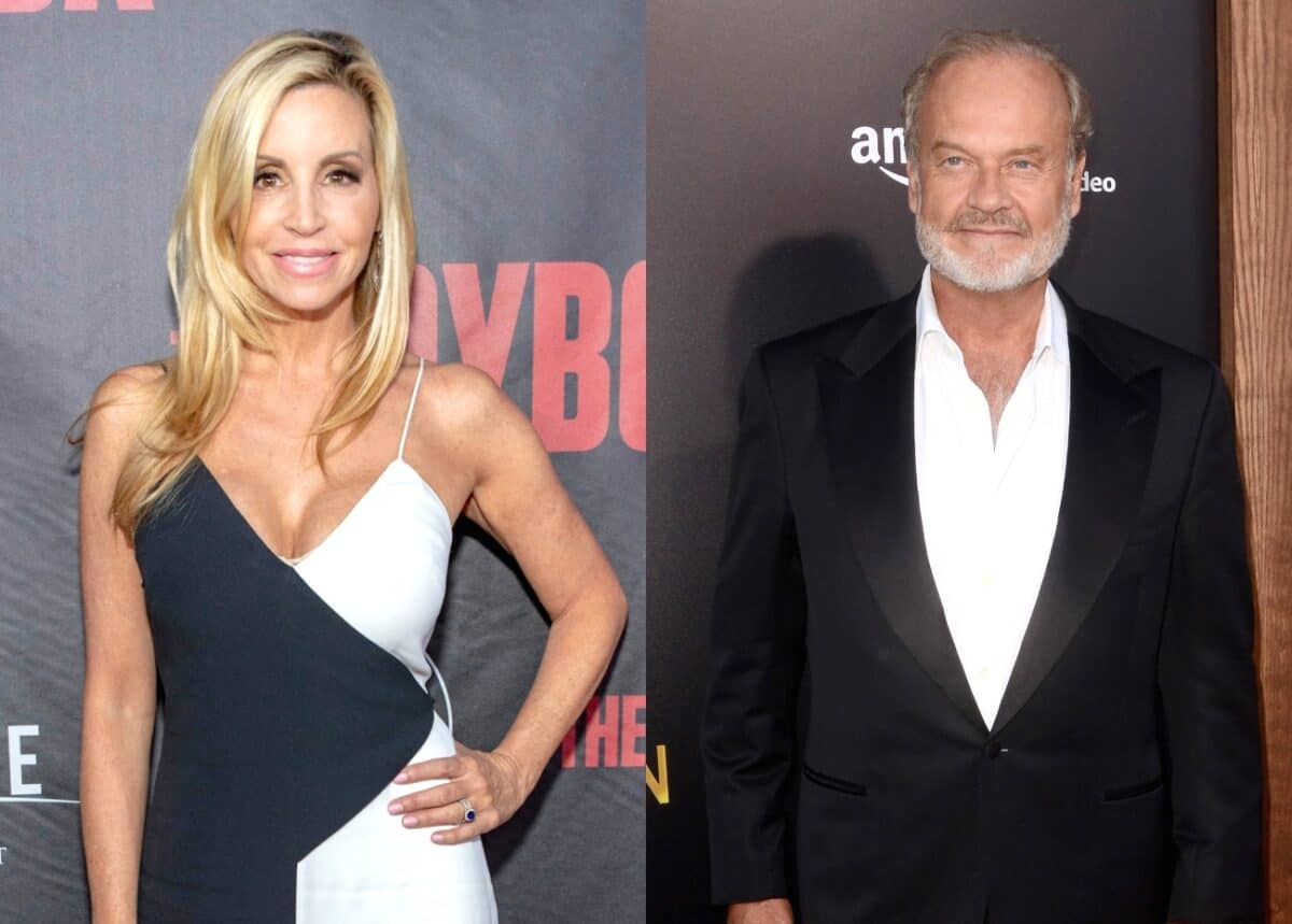 RHOBH's Camille Grammer Slams Ex Kelsey Grammer's Claim That She Demanded a Divorce on Day of His Mom's Funeral, Accuses Him of Being Drunk at the Ceremony