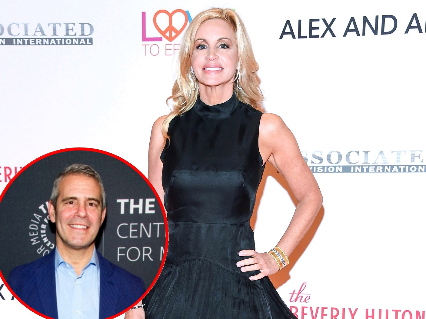 "Camille Grammer Calls Out Andy Cohen For Labeling Her ""Two-Faced,"" Reveals She Was Asked to Film For New RHOBH Season"