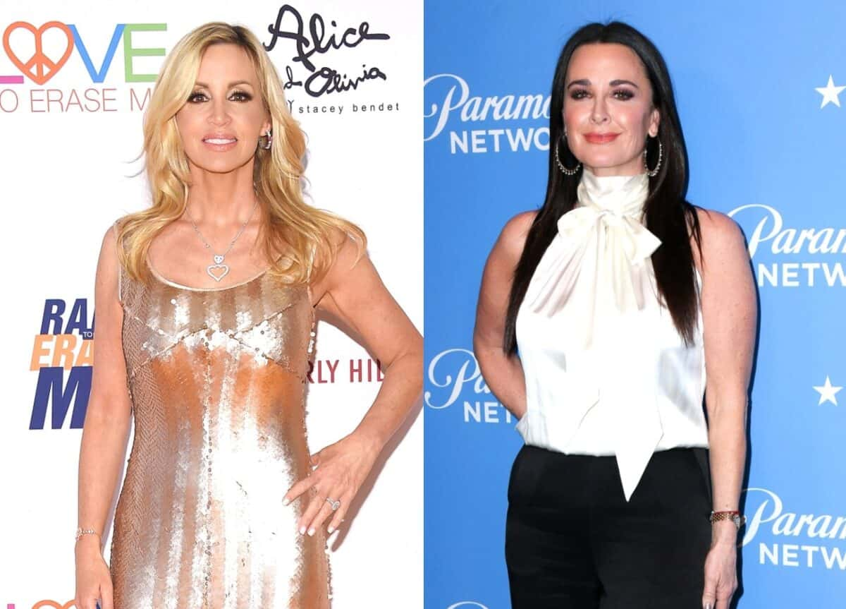 Camille Grammer Fires Back at Kyle Richards After She Denied Getting Her Fired From the RHOBH, Insists Producers Told Her Kyle Didn't Want Her Back