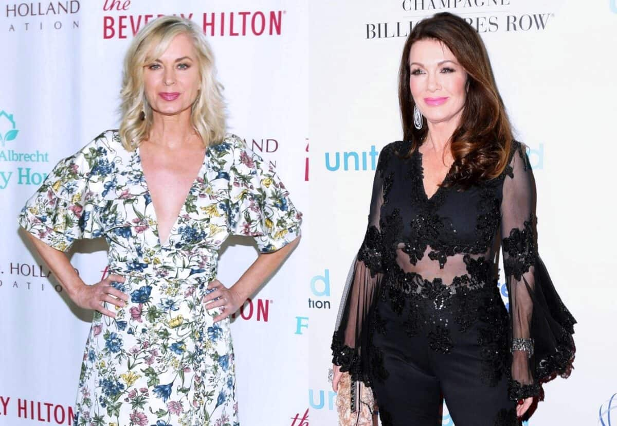 Eileen Davidson Disses Lisa Vanderpump for Skipping RHOBH Reunion and Weighs in on Puppy Gate, Plus Will She Be Returning to the Show?