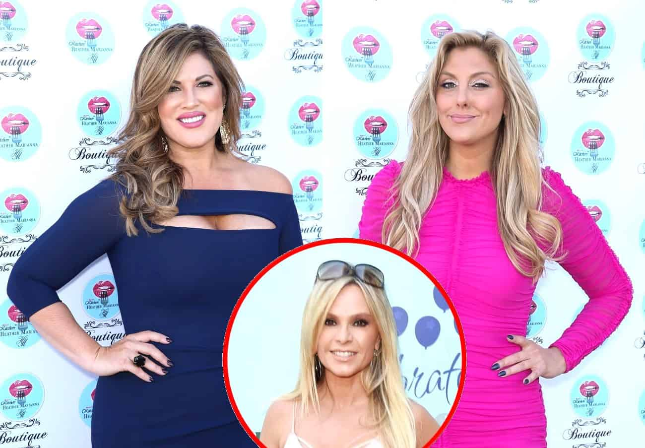 "RHOC's Emily Simpson Calls Out Gina Kirschenheiter for Laughing After Tamra Judge Compared Her to an ""Ogre,"" Claps Back at ""Stupid"" Tamra"