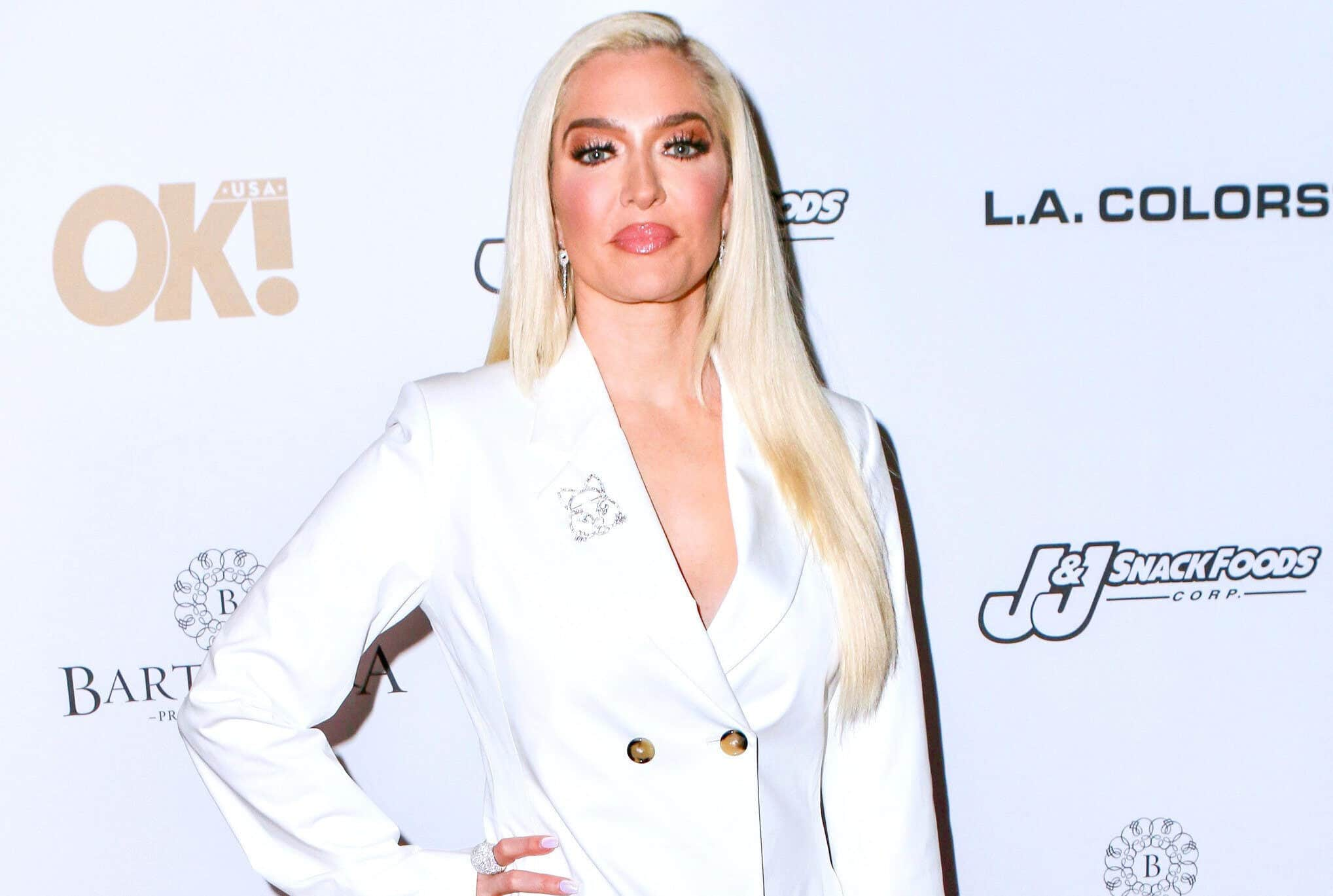 "PHOTO: Erika Jayne Makes First Public Appearance Since Divorce Filing As Sources Confirm RHOBH Star is ""Sad"" Amid Split From Tom and Share If She's Dating"