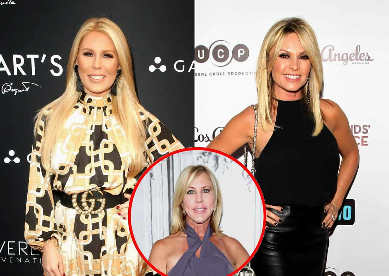 "RHOC's Gretchen Rossi Slams Ex-Costar Tamra Judge as a ""Bully,"" Plus She Reveals Why Vicki Gunvalson's Demotion Surprised Her"