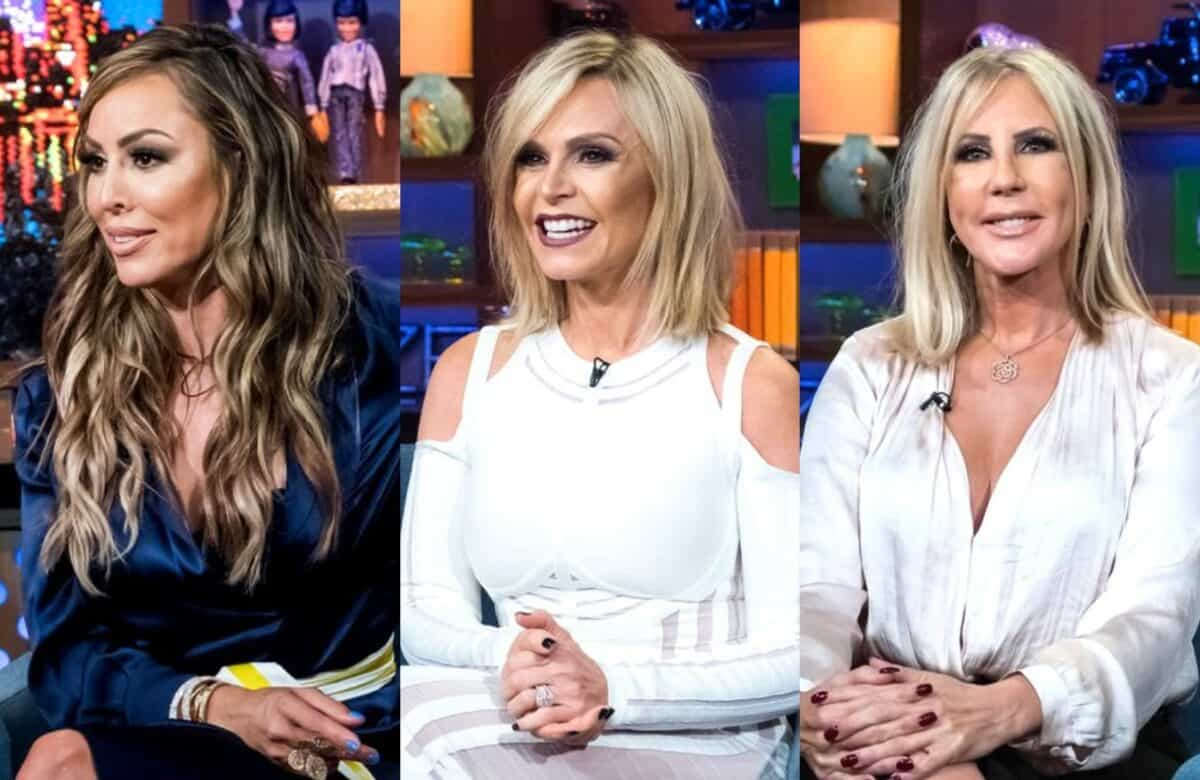 Kelly Dodd Shades Tamra Judge and Vicki Gunvalson's Relationships With Their Daughters, See Their Fiery Response as Kelly Says RHOC Rumor is Affecting Her Kid