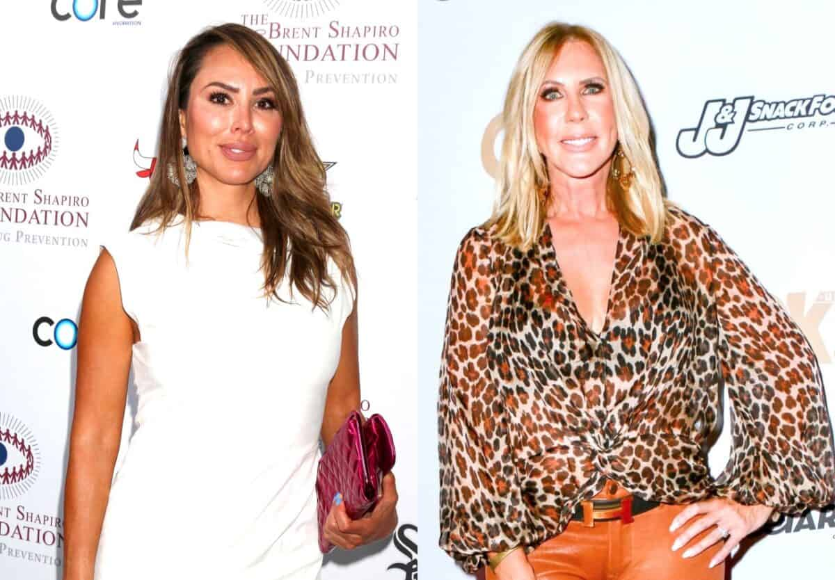 Did Kelly Dodd Just Diss Vicki Gunvalson's Engagement to Steve Lodge? See Her Suspicious Pig Emoji Message About Engagements, Plus RHOC Live Viewing Thread!