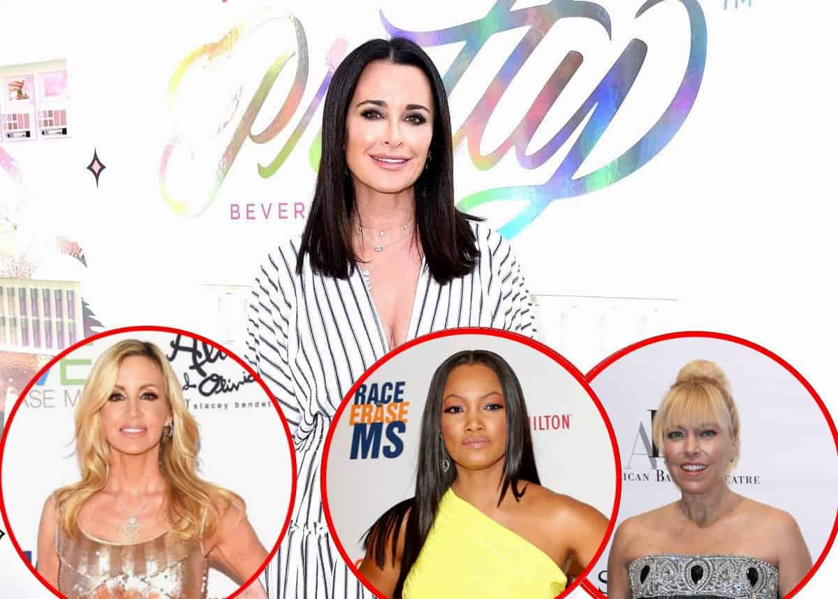 Kyle Richards Fires Back at Camille Grammer Over Claim She's Behind Her RHOBH Exit and Reveals How the New Housewives are Fitting in
