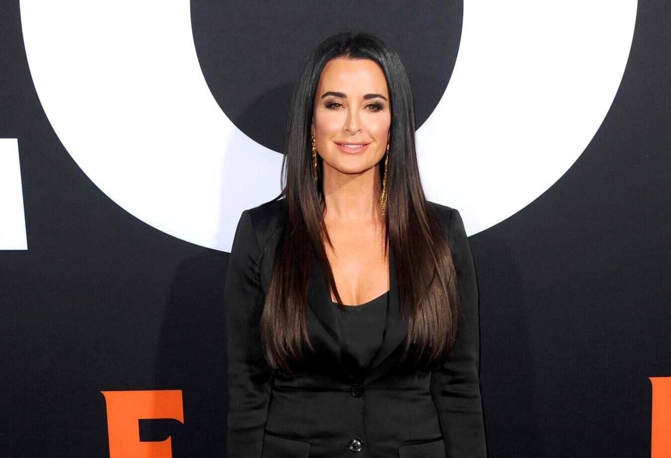 'RHOBH' Kyle Richards Offers a Health Update After Falling Ill With COVID-19, Plus She Shares Photo of Her Family's Christmas Card