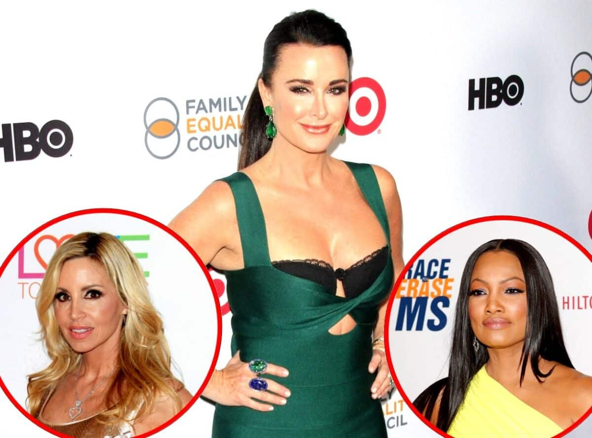 Kyle Richards Responds to Camille Grammer Suggesting She Got Her Fired From RHOBH and Talks Garcelle Beauvais' Addition to Show