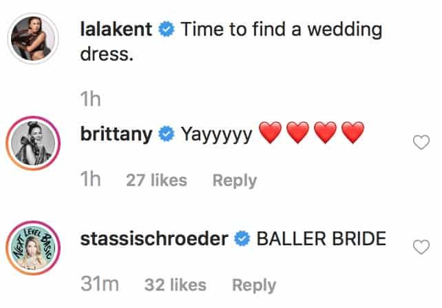 Vanderpump Rules Lala Kent Bridesmaids React as She Goes Wedding Dress Shopping