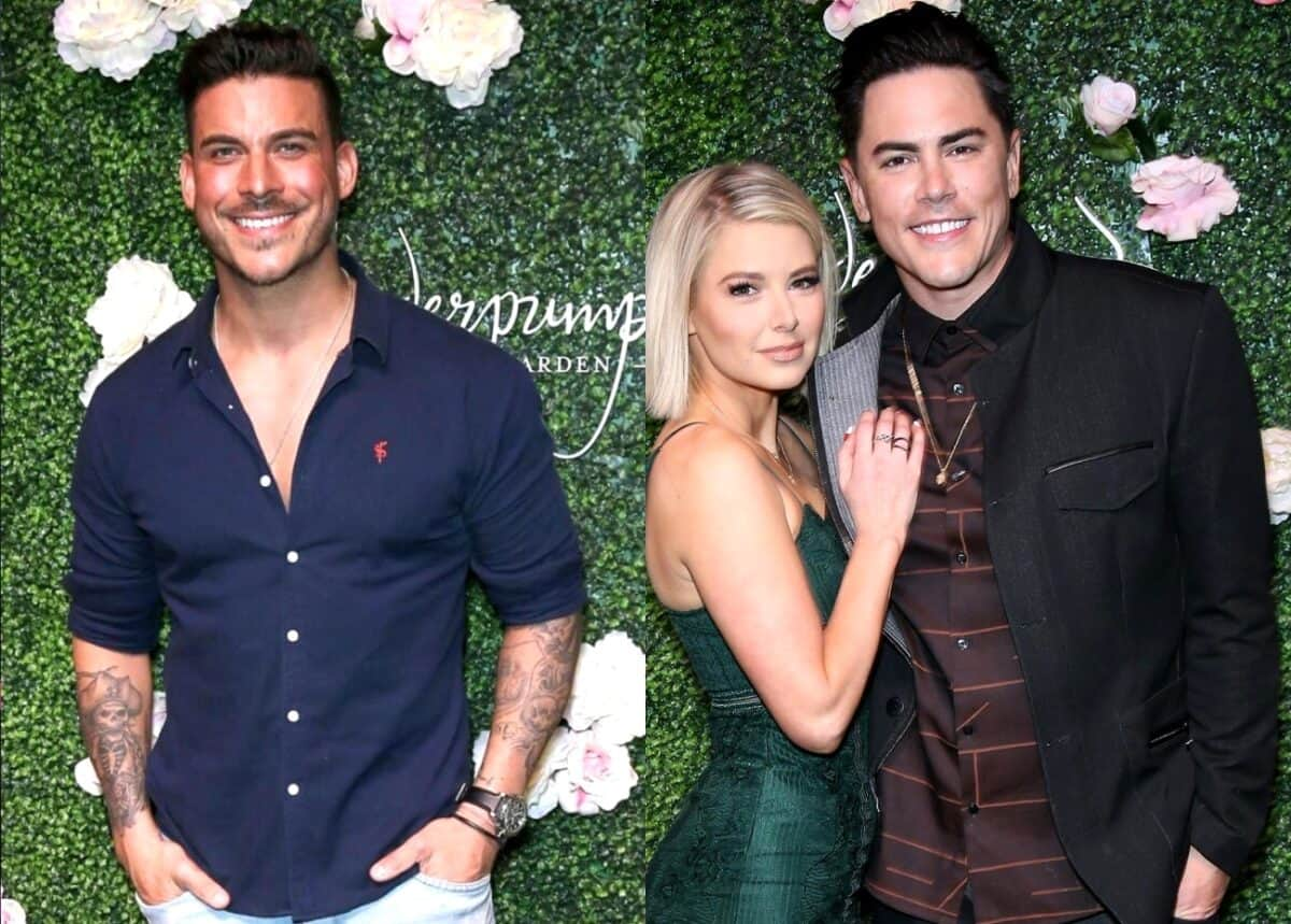 Vanderpump Rules' Jax Taylor Claims There's No Real Relationship Between Ariana Madix and Tom Sandoval, Reveals Which Costar's Relationship Won't Last