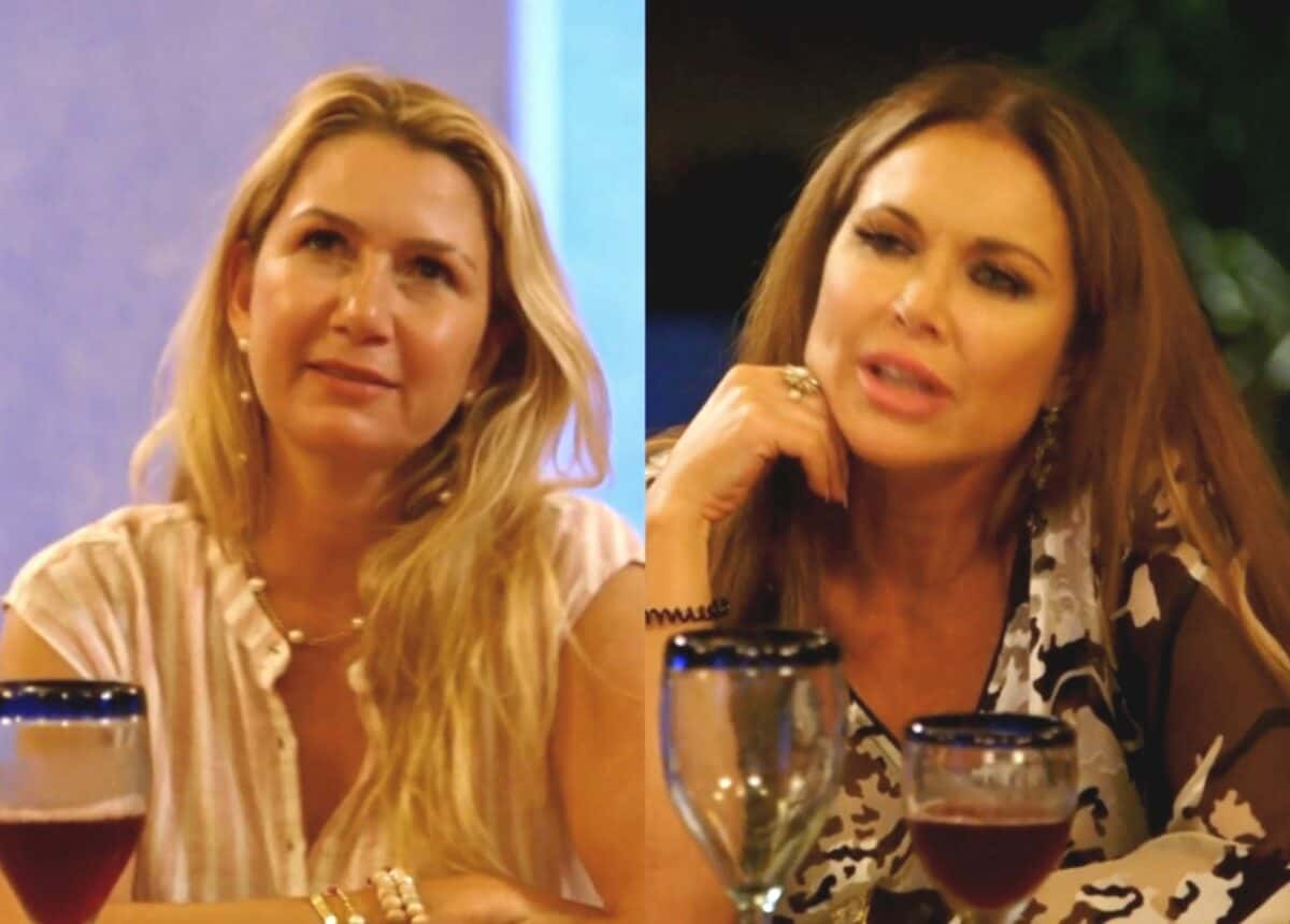 The Real Housewives of Dallas Recap: LeeAnne and Kary Bump Heads in Mexico