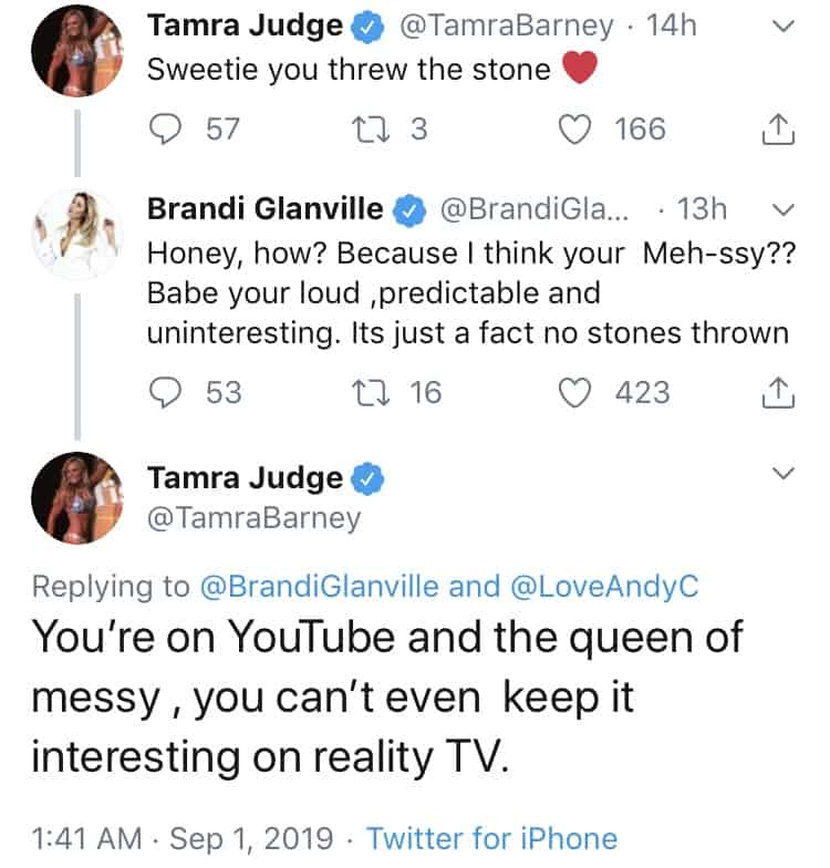 You're on YouTube and the queen of messy , you can't even keep it interesting on reality TV.