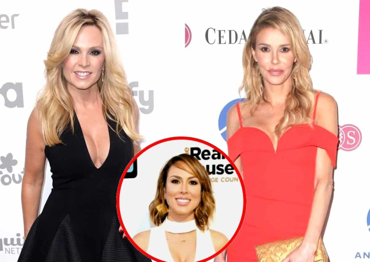 RHOC Star Tamra Judge Threatens Legal Action Against Brandi Glanville
