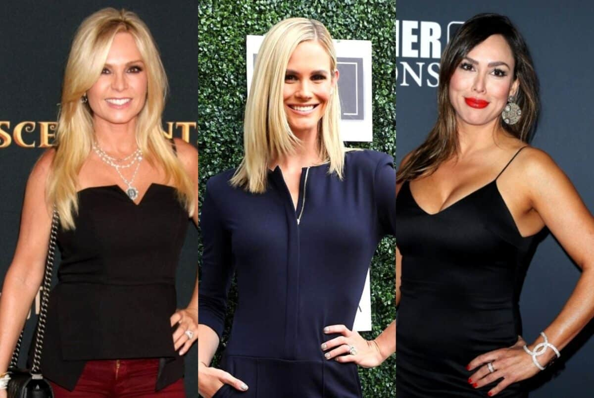 Tamra Judge and Meghan King Edmonds Have a Laugh About the 'Train' Rumor as Kelly Dodd Claims Tamra Can't Quit RHOC Because She Needs the Money