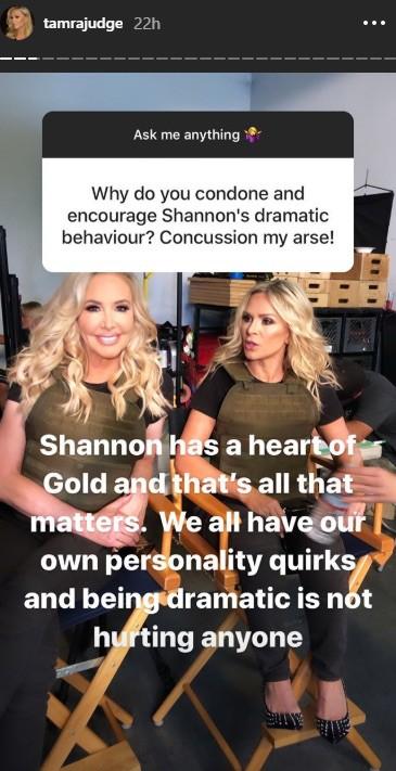 RHOC Tamra Judge on Shannon Beador Being Dramatic