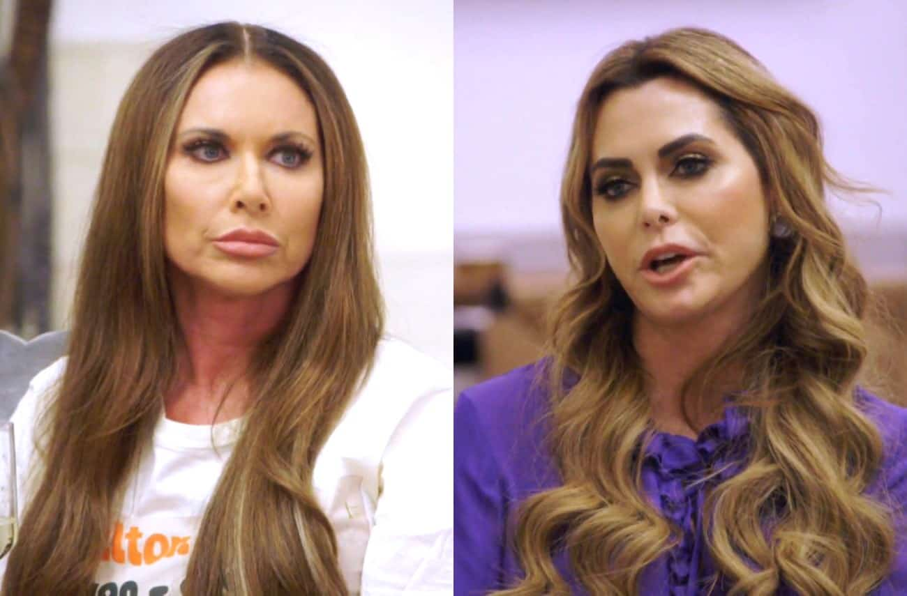 The Real Housewives of Dallas Premiere Recap: LeeAnne and D'Andra's Feud Over Cheating Accusations