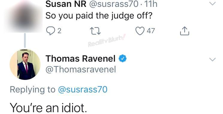 Southern Charm Thomas Ravenel Denies Paying Off Judge