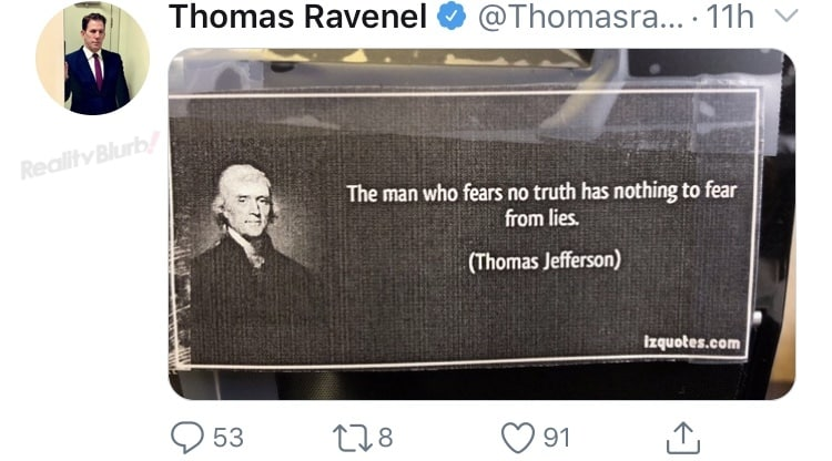 Southern Charm Thomas Ravenel Says He Fears No Truth in a Meme