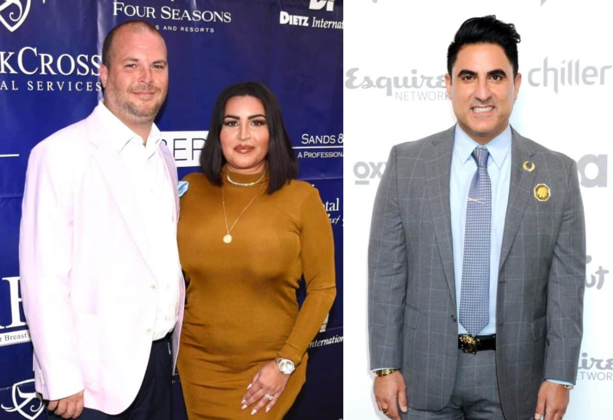 "Shahs of Sunset Star MJ Javid's Husband Tommy Feight Accuses Reza of Cheating: ""Everybody Knows"" as Reza Shares New Details About Tommy's Threats"