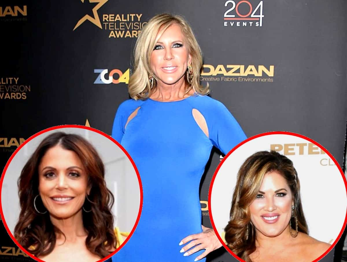RHOC's Vicki Gunvalson Comments on Bethenny Frankel's Exit From RHONY