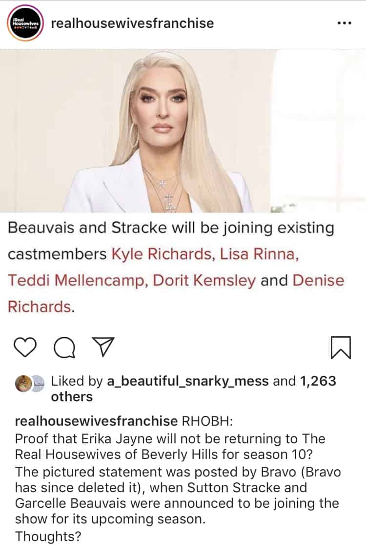 Was Erika Jayne Fired from the RHOBH