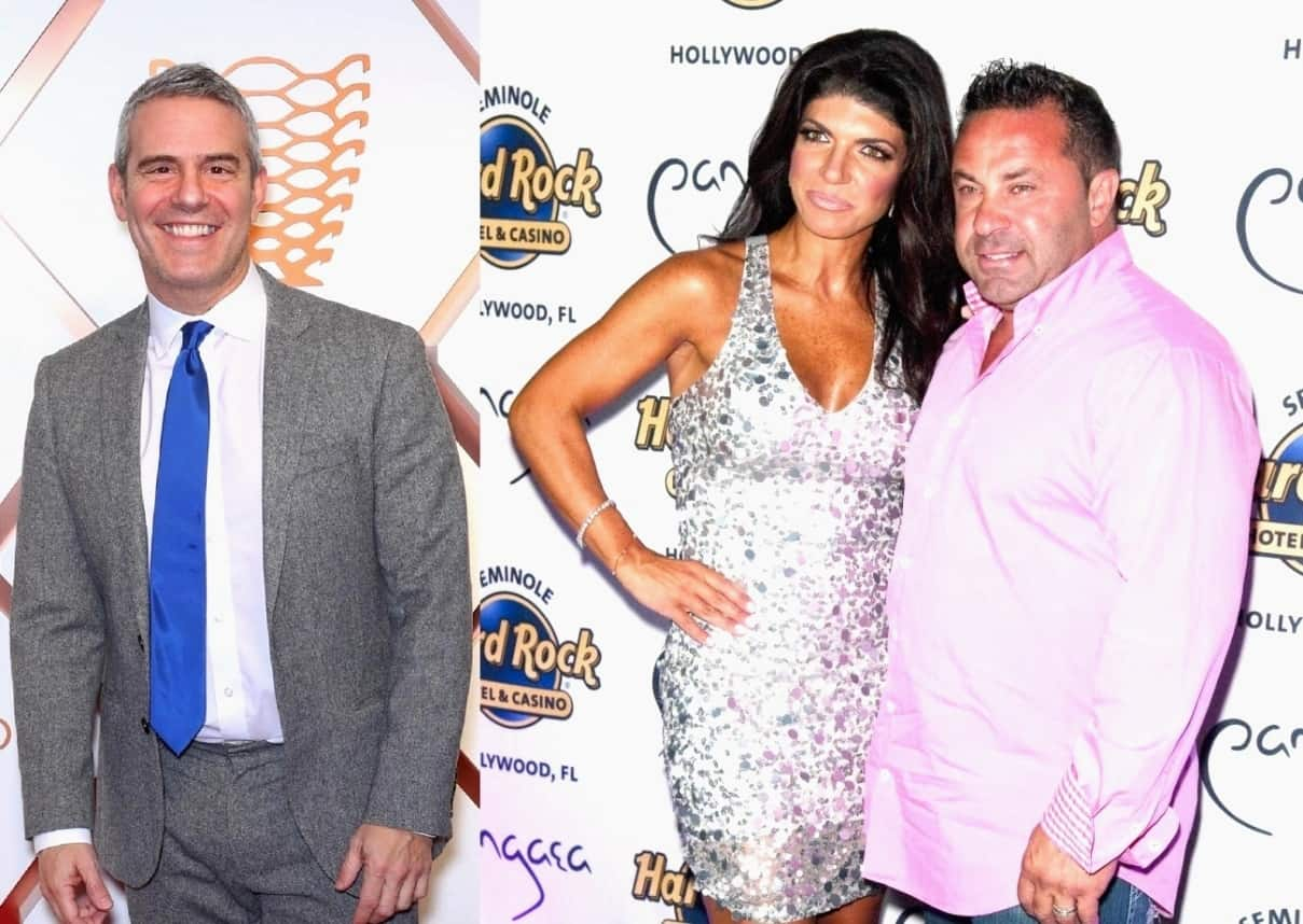 Andy Cohen Reveals His Biggest Regret From Interview with Joe and Teresa Giudice, Says Joe Was Concerned About the IRS Before Joining RHONJ