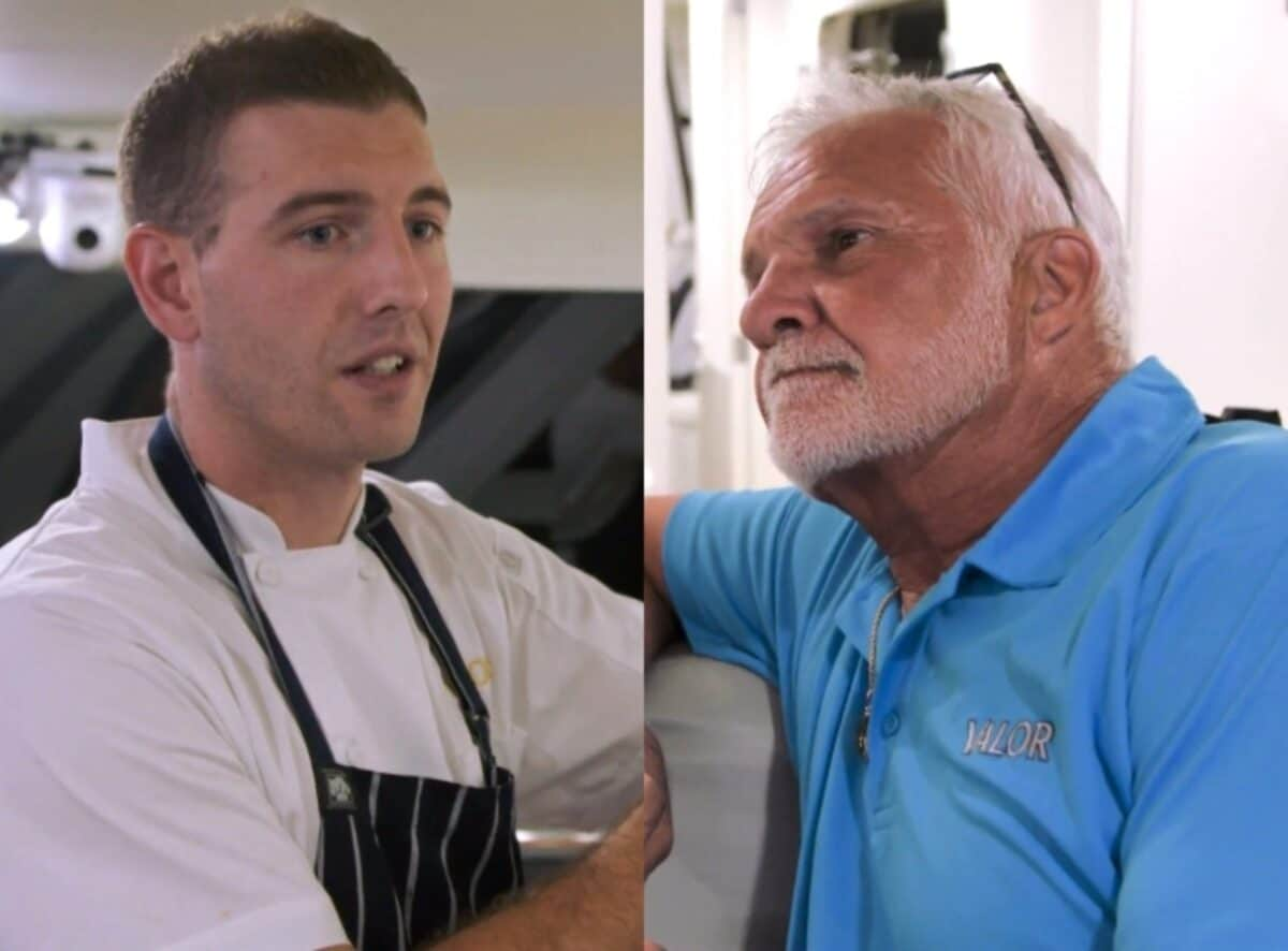 Below Deck Recap: Chef Kevin Finds Himself in the Hot Seat with Captain Lee
