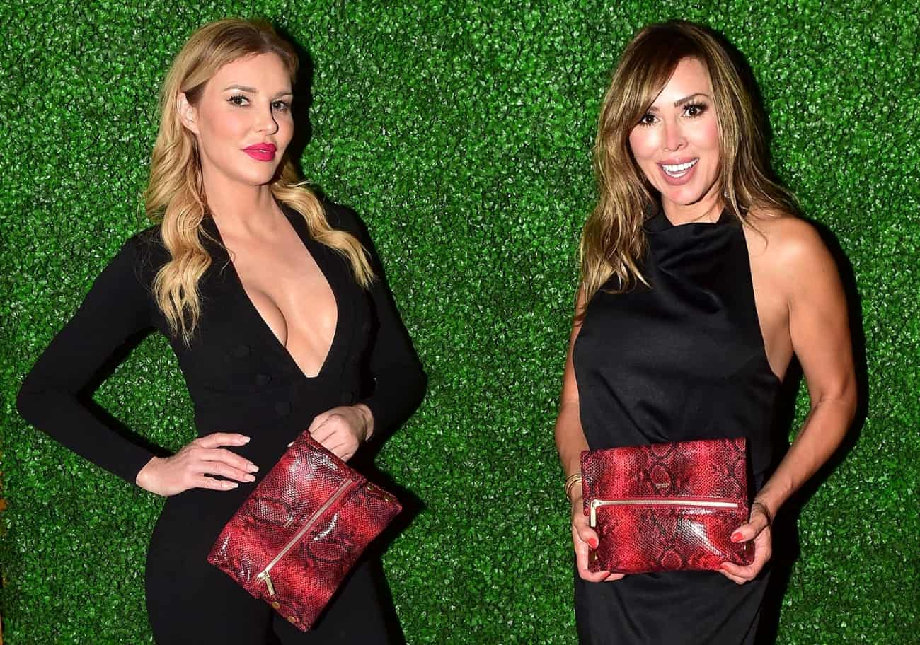 Brandi Glanville Calls Out RHOC Cast For Going After Kelly Dodd and Defends Her, Plus She Talks Returning to RHOBH, and RHOC Live Viewing Thread!