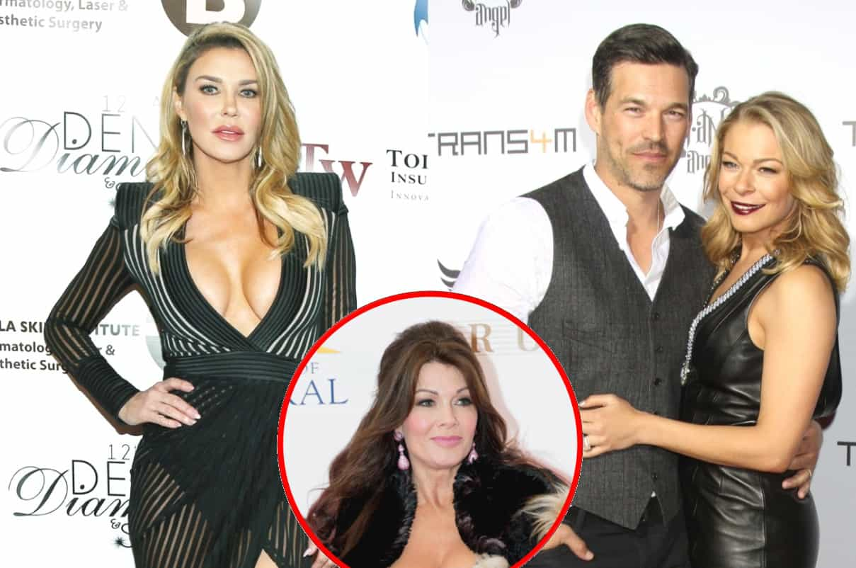 Brandi Glanville Talks Ups and Downs of Co-parenting With Ex Eddie Cibrian and LeAnne Rimes, Plus She Weighs in on Lisa Vanderpump's RHOBH Exit