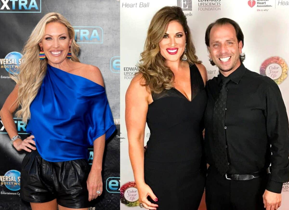"""RHOC's Braunwyn Windham-Burke Claims Emily Simpson's Marriage is an """"Arrangement"""" and Reveals Which Costar is the Biggest Prude, Plus Do Her Kids Watch the Show?"""