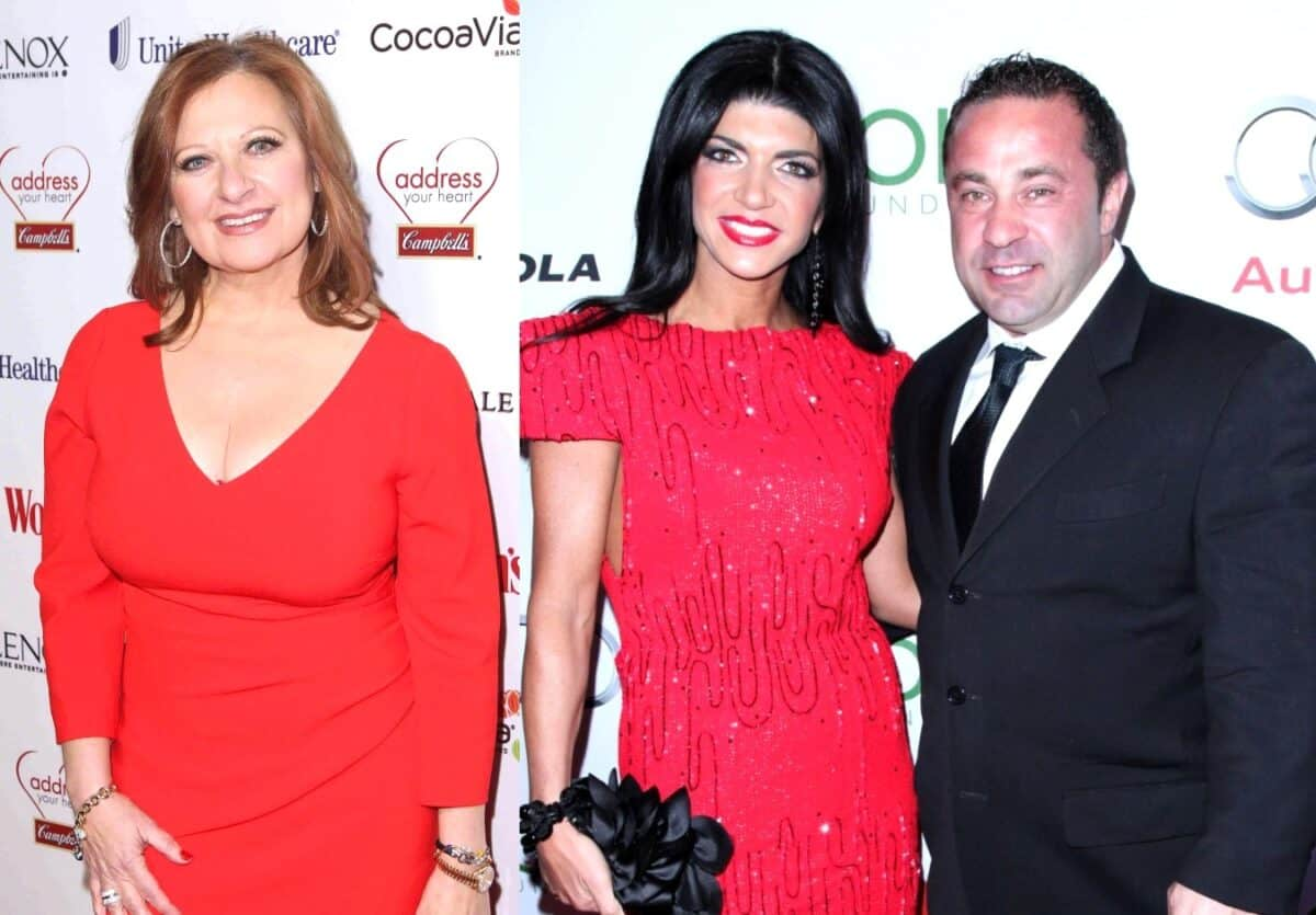 RHONJ's Caroline Manzo Reacts to Teresa Giudice's Claim That She Snitched on Her and Joe, Plus Joe Addresses Photos of Teresa With Another Man as Teresa Explains Why She Didn't Ask President Trump for Help
