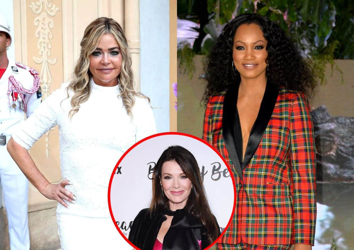 Denise Richards Reacts to RHOBH Demotion Rumors Amid Reports of Filming Less as Garcelle Beauvais Reveals What Show Will Be Like After Lisa Vanderpump's Exit