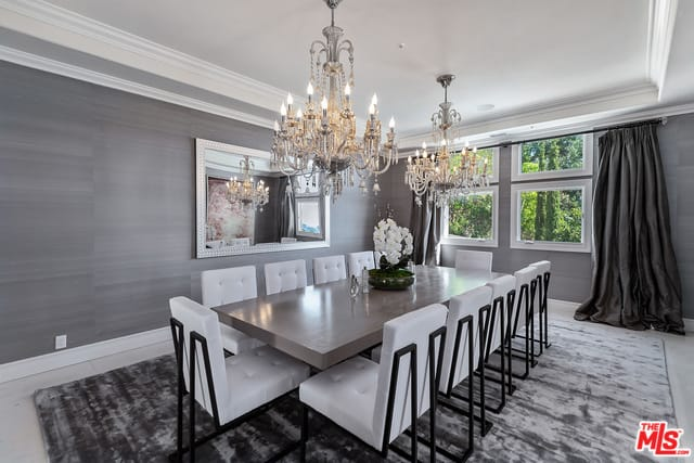 RHOBH Dorit Kemsley Dining Room