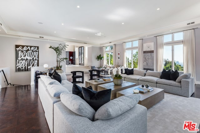 RHOBH Dorit Kemsley Living Room
