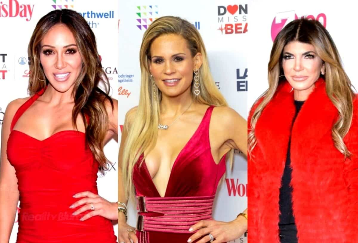 RHONJ's Melissa Gorga and Jackie Goldschneider Discuss Teresa Cheating Rumors, Plus Jennifer Aydin Caught on Tape Making Fun of Jackie