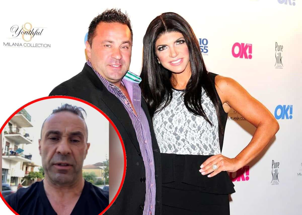 "RHONJ Star Joe Giudice Breaks Silence in Italy Following ICE Release, Says ""Nobody's Perfect"" as Teresa Giudice Announces Joint TV Interview With Joe"