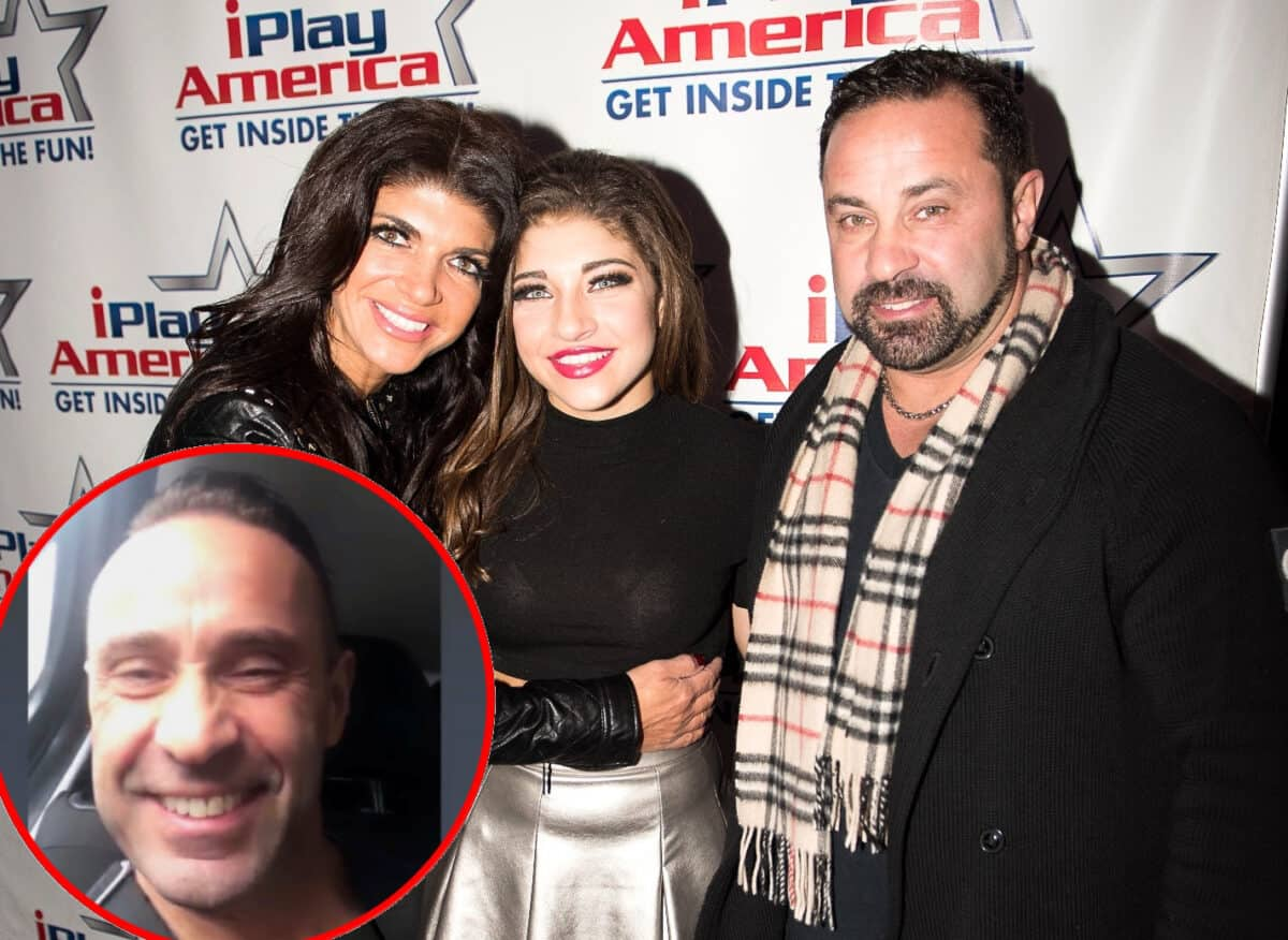 PHOTO: Gia Giudice Shares First Photo of Joe Giudice After ICE Release, Plus RHONJ's Teresa Reacts to Joe Leaving America For Italy