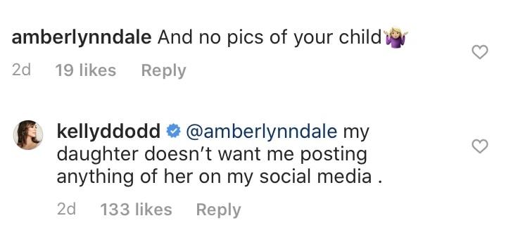 RHOC Kelly Dodd Explains Not Posting About Jolie